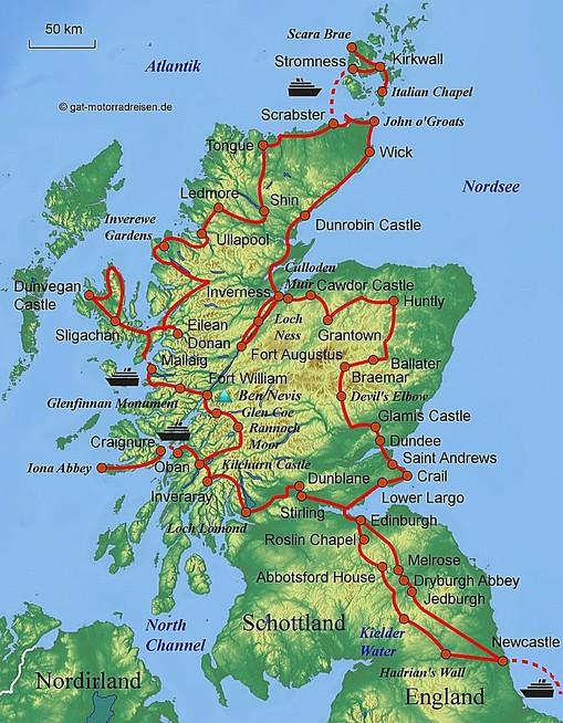 Schottland Karte Highlands.Highlands Schottland Karte Hanzeontwerpfabriek