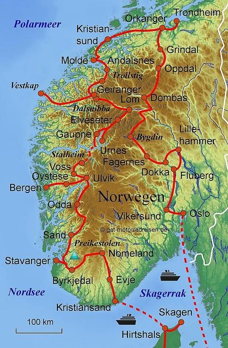 Motorradreise Norwegen Gefuhrte Motorradtouren Organisierter