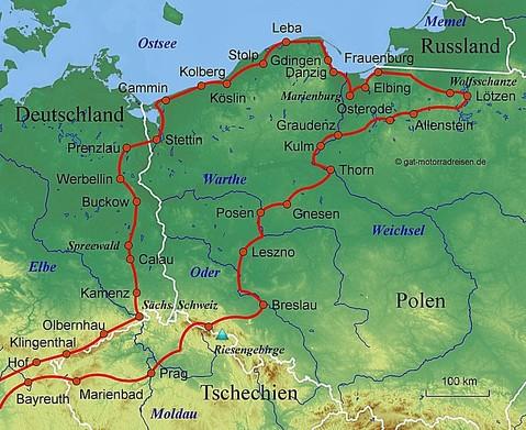 Motorradreise Polen Gefuhrte Motorradtouren Organisierter