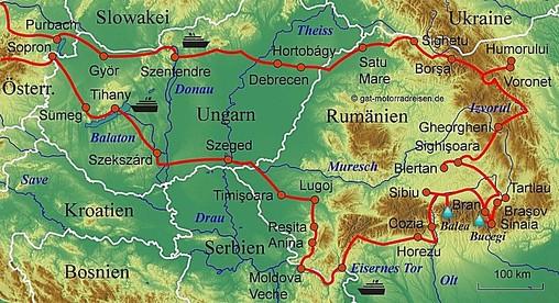 Motorradreise Rumanien Gefuhrte Motorradtouren Organisierter