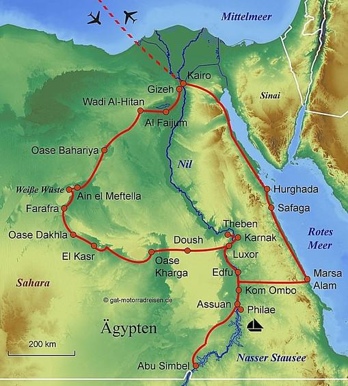 Motorradreise Agypten Gefuhrte Motorradtouren Organisierter